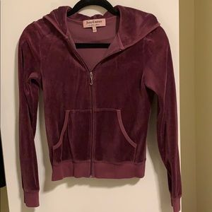 Velour Juicy Couture Zip-up Jacket
